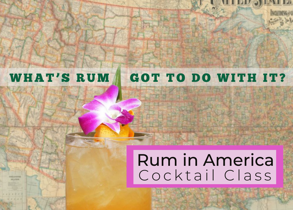 Rum in America Cocktail Class at Hogwash Whiskey Den
